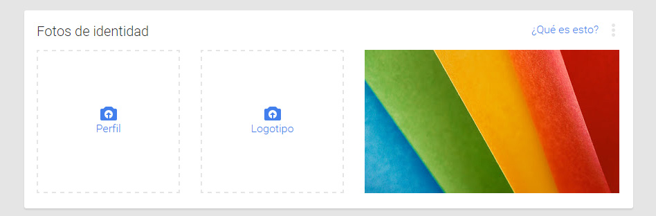fotos del logotipo e identidad google my business