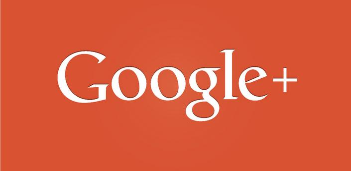 logo formato texto de Google+