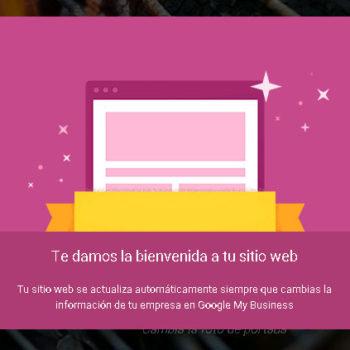 bienvenida gmb web