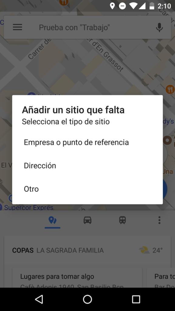 Cómo agregar un negocio en construcción a Google Maps
